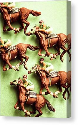 Racehorse Canvas Prints