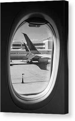 Taxiway Canvas Prints