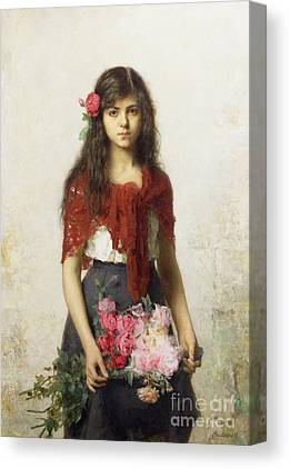 Girls In Pink Canvas Prints