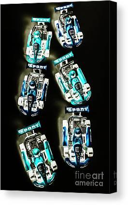 Go Kart Canvas Prints