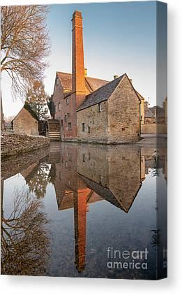 Lower Slaughter Canvas Prints