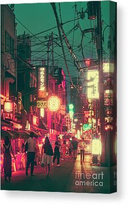 Kansai Canvas Prints