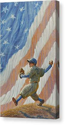 Strikeout Canvas Prints