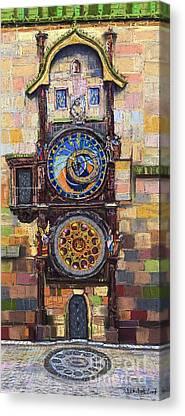Astronomical Clock Canvas Prints