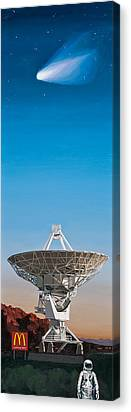 Radar Paintings Canvas Prints