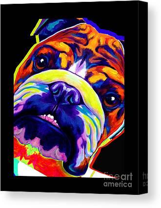 Dawgart Mixed Media Canvas Prints