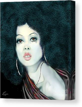 Diana Ernestine Earle Ross Canvas Prints