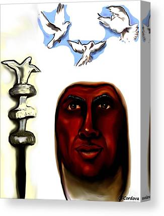 Orishas Digital Art Canvas Prints