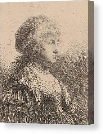 Saskia Canvas Prints