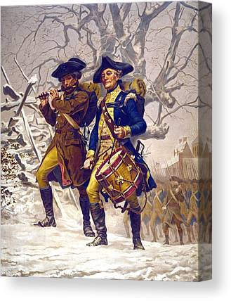 Soldiers Canvas Prints
