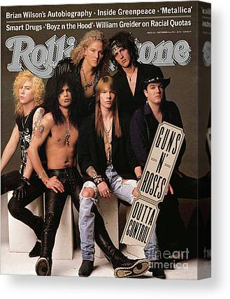 Music Rock N Roll Guns N Roses Canvas Prints