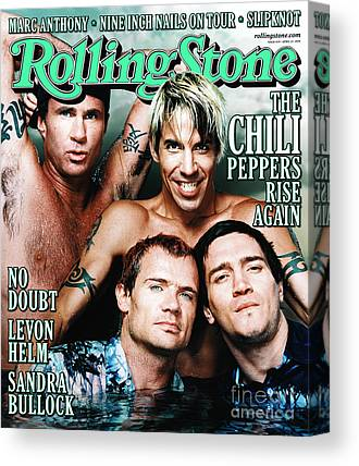 Red Hot Chili Peppers Canvas Prints