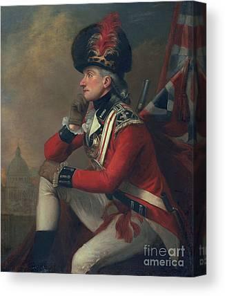 Redcoat Paintings Canvas Prints