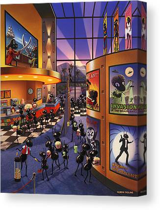 Movie Theatre Paintings Canvas Prints