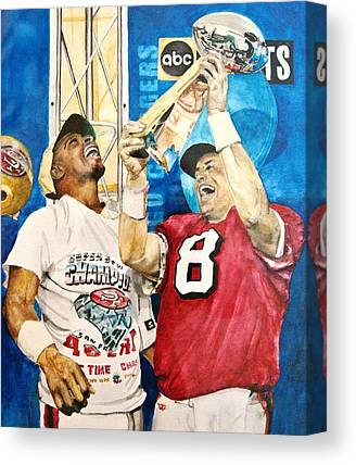 Jerry Rice Canvas Prints