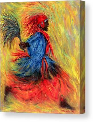 Stride Paintings Canvas Prints