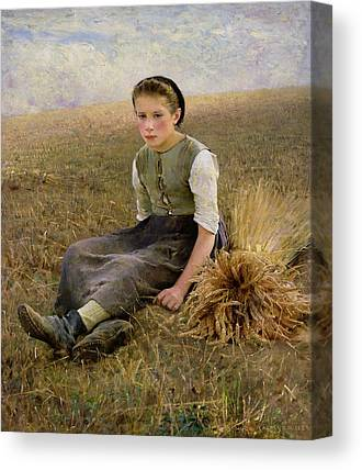 Harvesters Canvas Prints