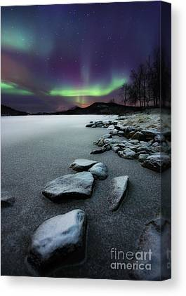 Aurora Borealis Canvas Prints