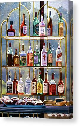Whiskey Hill Canvas Prints