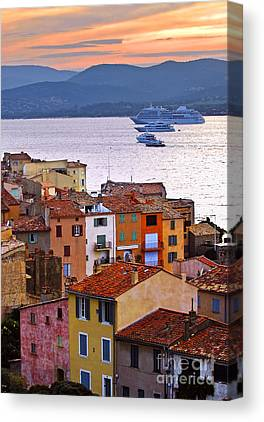 Southern France Photographs Canvas Prints