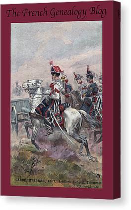 Garde Imperiale Photographs Canvas Prints