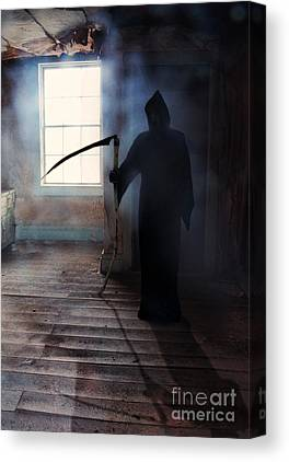 Looming Death Canvas Prints