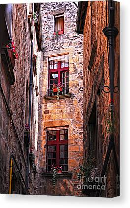 Old Stone House Canvas Prints