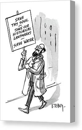 Save Our Water Canvas Prints