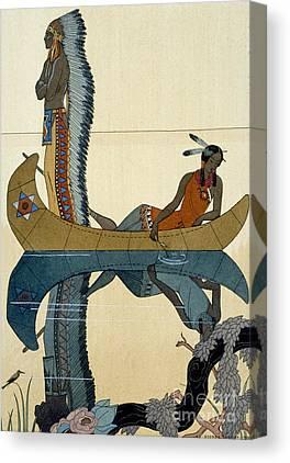 Indian River Canvas Prints