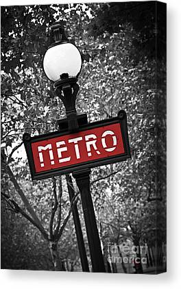 Street Sign Canvas Prints