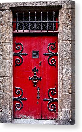 France Doors Canvas Prints