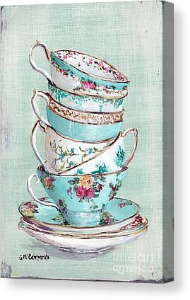 Tea Canvas Prints