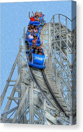 Thrill Ride Canvas Prints