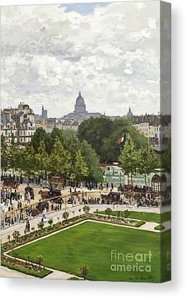 Le Louvre Canvas Prints