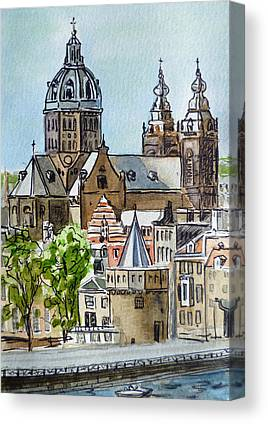 Catherdral Canvas Prints