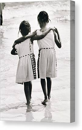 African Resort Canvas Prints