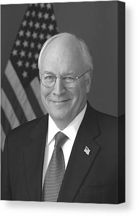 Dick Cheney Canvas Prints