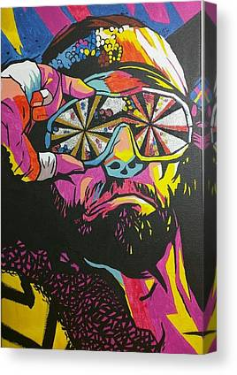 Randy Savage Canvas Prints