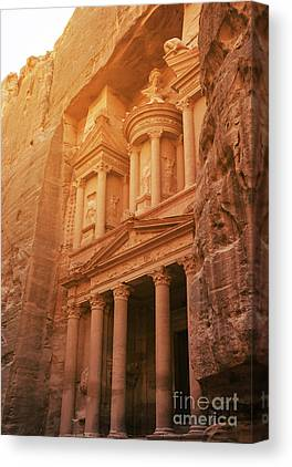 Petra - Jordan Canvas Prints
