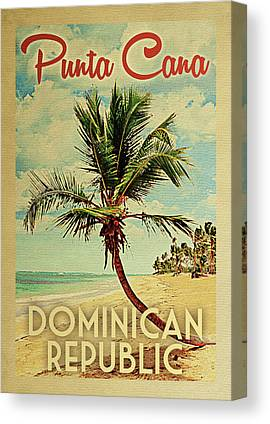Punta Cana Canvas Prints