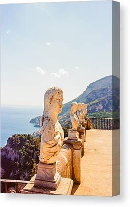 Amalfi Coast Canvas Prints