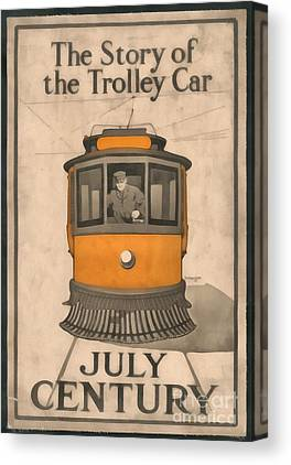 Trolley Canvas Prints