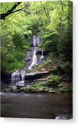Smoky Mountain National Pall Canvas Prints