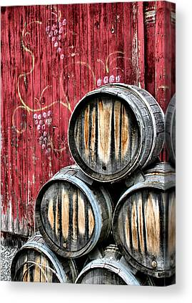 Winery Canvas Prints