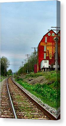 Old Feed Mills Canvas Prints