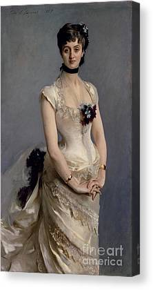 Ball Gown Canvas Prints