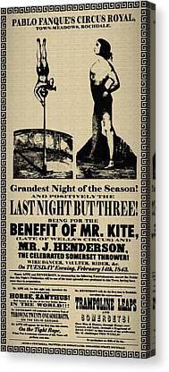 Mr Kite Canvas Prints