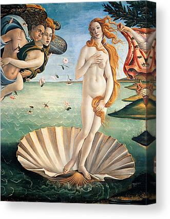 The Uffizi Gallery Canvas Prints