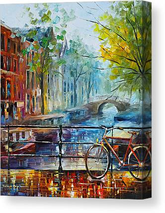 Waterscape Paintings Canvas Prints