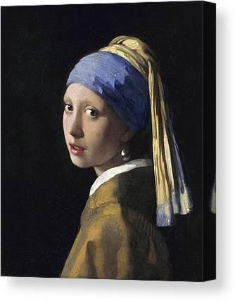 Johannes Vermeer Canvas Prints